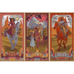 Phish Signed Posters - Sept 4-6, 2015 - Dick's Sporting Goods Park, CO  (3 poster set)