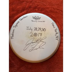 Phish (Baker's Dozen) Show Used Drumhead - Signed by Jon Fishman (July 28,29,30)