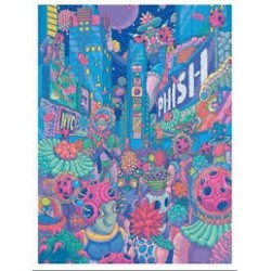 Phish Signed Poster - December 28 - 31, 2018 - New York (Bang SangHo)