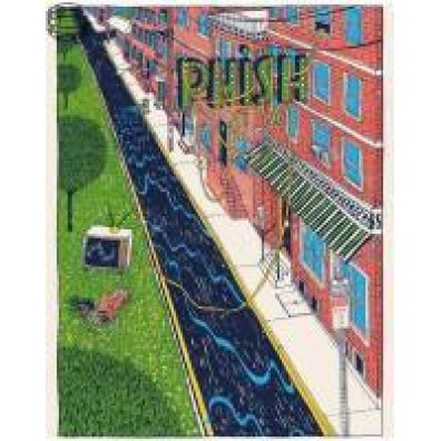 Phish Signed Poster - June 28-29, 2016 - Philadelphia, PA