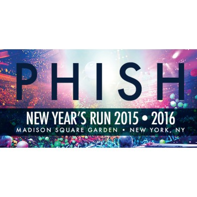 Phish New Years Travel/Ticket Package for Two - New York Marriott East Side - 4 nights/4 shows