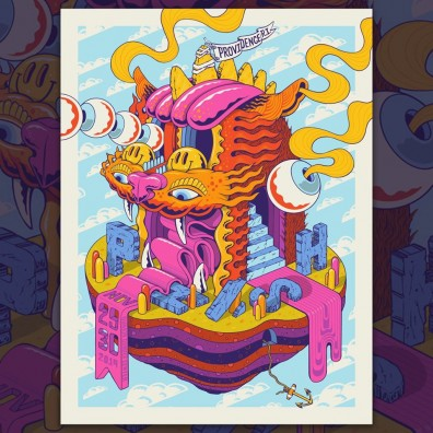 Phish Signed Poster - November 29-30, 2019 - Providence